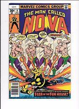 The Man Called Nova #9 May 1977 Megaman appearance