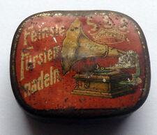 BAVARIA - rare needle tin Phonograph Grammophon Nadeldosen - Germany