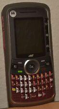 Motorola Clutch i465 Nextel - Red iDEN Cell Phone -