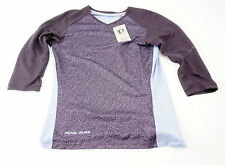 Pearl Izumi Women's Launch Cycling Jersey M 3/4 Sleeve Purple MTB Mountain