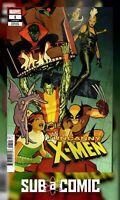 UNCANNY X-MEN #1 CHIANG VARIANT (MARVEL 2018 1st Print) COMIC