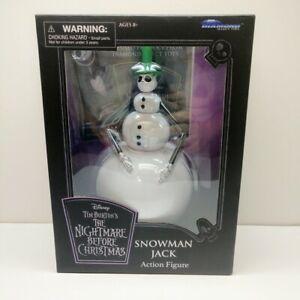 DIAMOND SELECT WALT DISNEY Nightmare Before Christmas Snowman Jack Action Figure