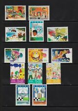 Aruba - Semi-postal sets from 1993-96, cat. $ 30.15