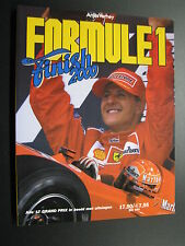 Book Formule 1 Finish 2000 door Anjes Verhey (Nederlands)