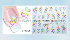 US Seller- fingernail stickers water transfer nail decal