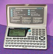 Vintage Casio BOSS Illuminator SF-4700C 64kb Digital Diary and Organizer in one!
