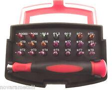 set 21 inserti x telefonia PENTATORX T1 T4 T5 per APPLE bits phones PH0000
