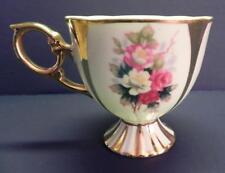 Shafford Tea Cup Roses & Golden Accents _2193