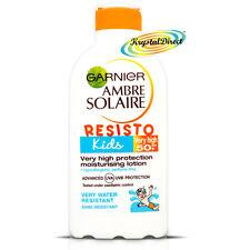 Granier Ambre Solaire Resisto Kids SPF 50 Moisturising Milk Lotion 200ml