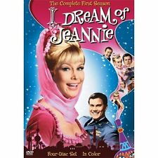 I Dream of Jeannie The Complete First Season DVD 2006 4-Disc Set Color