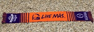 CLEMSON Tigers Taco Bell College Football Playoff Student Section Scarf Live Mas