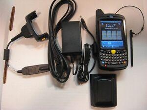 SYMBOL MOTOROLA MC659B-PD0BAA00100 CELLULAR BARCODE SCANNER+CAMERA MC65 256/1MB