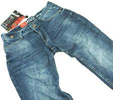 M.O.D MONOPOL Jeans Herren Joshua BLUE QUARTZ denim blau STAR NEU, d.g Hose