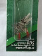 Dry flies english style grizzly king#10 etic #021-004810 fresh water (ref#bte17)