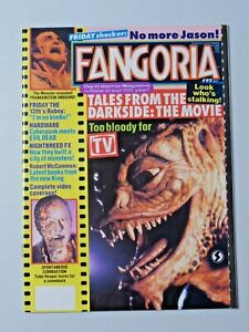 Vintage FANGORIA Magazine #92 May 1990 Tales from the Darkside The Gate 7808