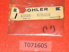 Genuine! KOHLER 220004 retainer cir clip, wrist pin K91 engine repair part OEM!