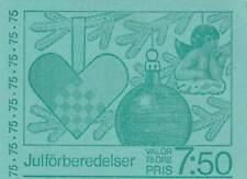 Zweden booklet 1977 PB 64 postfris MNH 1004-1005 - Kerstmis / Christmas
