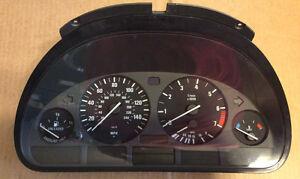 98 99 00 01 02 03 BMW 525i 528i 530i Speedometer Gauges Head Cluster MPH