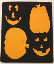 Sizzix ~ Pumpkins #2 ~ Large Die Cut Scrapbook Card Halloween Jack O Lantern