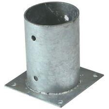 Aufschraubbodenhülse rund Ø121 mm Pfostenträger Aufschraubhülse feuerverzinkt