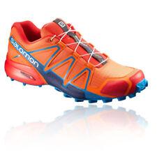 Chaussures orange Salomon pour fitness, athlétisme et yoga