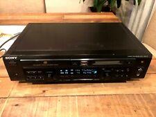 Working - Sony Mxd-D3 Cd Minidisc combo deck