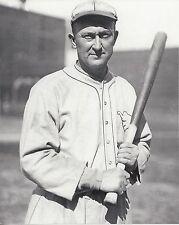 TY COBB 8X10 PHOTO DETROIT TIGERS BASEBALL MLB PICTURE CLOSEUP WITH BAT