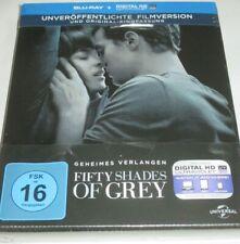 Fifty Shades of Grey - Blu-ray/NEU/Erotik/Dakota Johnson/Jamie Dornan/Steelbook