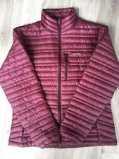 Patagonia Women's Down Jacket Insulated Large L Plum Purple Ethical Microlight