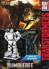 Fascinations Metal Earth Transformers Bumblebee 3D Metal Model Kit