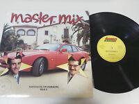 """MASTER Mix Volumen 2 Mike Platinenhalter Javier Ussía LP vinyl 12 """" 1987 VG/VG"""
