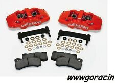 Wilwood AERO6 Front Caliper Upgrade Kit Fits 1997-2013 Corvette C5,C6,Z06,Red -