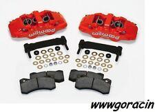 Wilwood AERO6 Front Caliper Upgrade Kit Fits 1997-2013 Corvette C5,C6,Z06,Red,BK