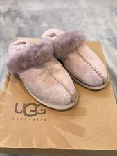 UGG Sheepskin Mauve Scuffette II New With Small Defect Ladies Slippers Size 7.5