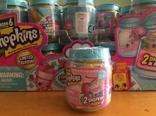 Shopkins Season 6 Chef Club blind bag jars in hand- Limited Season HOT ITEM