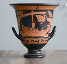 Odysseus and Sirens Iliad Krater Vase Ancient Greek Museum Replica Reproduction