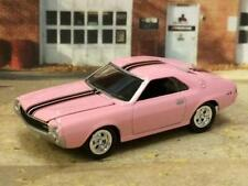 1969 69 AMC AMX in Playboy Pink Paint 1/64 Scale Limited Edition ZZ16