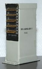 T-BAR RELAY 931-60AG28-S, 60 FORM A (N.O.) SOLDER CONTACTS, 28VDC, NOS