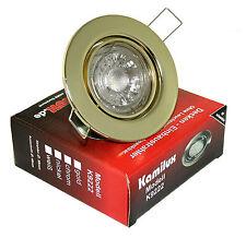 Kamilux K9222 230V 7-Watt LED Deckenstrahler Set - Gold