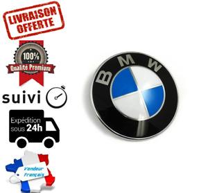 74MM Logo COFFRE BMW Insigne Emblème E46 E90 E92 E60 E34 E36 E39 X3 X5 X6