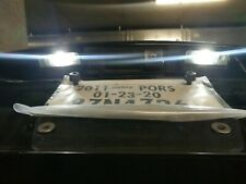 White LED Bulbs License Plate Light Lamps for Porsche Cayenne VW Touareg 958 997