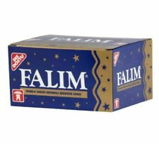 Falim Plain Flavoured Sugarfree Chewing Gum 20 packs of 5 = 100 pieces