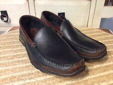 Allen Edmonds 71801 AE Boulder Black Driving Moccasin Loafers Size 8.5 D