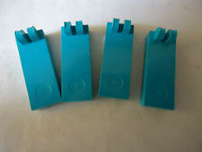 LEGO PART 4531 DARK TURQUOISE TILE WITH 2 FINGERS ON TOP x 4