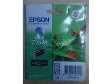 CARTUCCIA EPSON T0549 BLUE x R800 R1800 CARTRIDGE C13T05494020