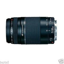 Canon EF 75-300mm F4-5.6 III Telephoto Zoom Lens Brand New  jeptall