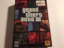 Grand Theft Auto III (PC, 2002) Plus Bonus San Andreas and Vice City