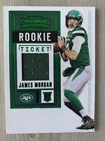 2020 Panini Contenders James Morgan Rookie Ticket New York Jets RC