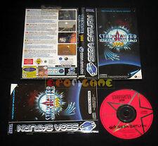 STARFIGHTER 3000 Sega Saturn Versione Italiana Star Fighter ••••• COMPLETO