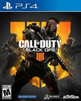 Call of Duty: Black Ops 4 PS4 (Sony PlayStation 4, 2018) Brand New  Sealed Game